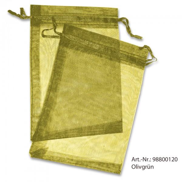 Organzasäckchen olivgrün