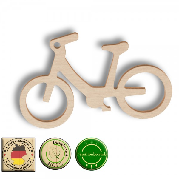 Fahrrad als Schlüsselanhänger