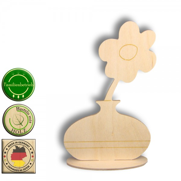 Blume Holz Basteln