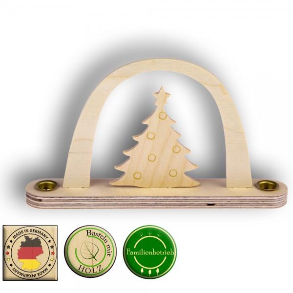 kleiner Weihnachtsbogen mit Tannenbaum