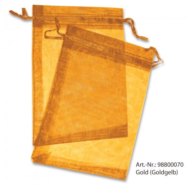 Organzasäckchen gold