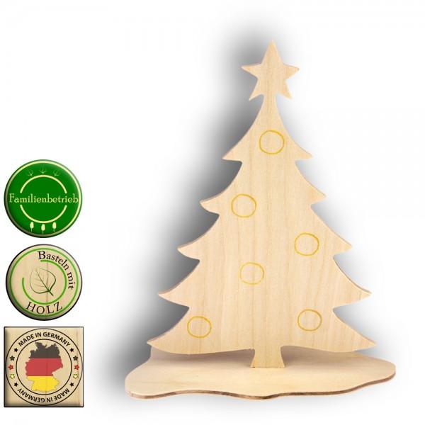 Tannenbaum Holzaufsteller