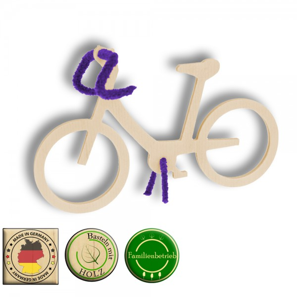 Fahrrad als Aufsteller