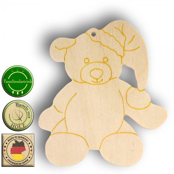 Weihnachts-Teddybär als Hänger