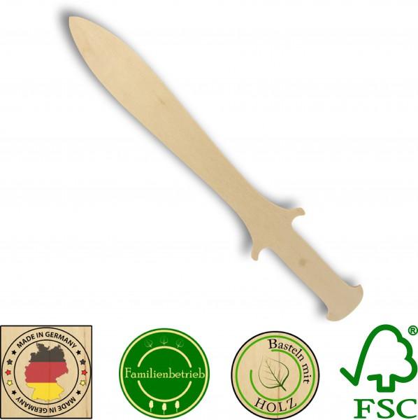 Piratendolch aus 3mm Birkensperrholz